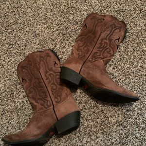 Justin cowgirl boots women's size 9 style l 2559
